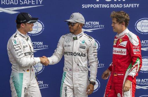 Hamilton steht in Monza auf der Pole