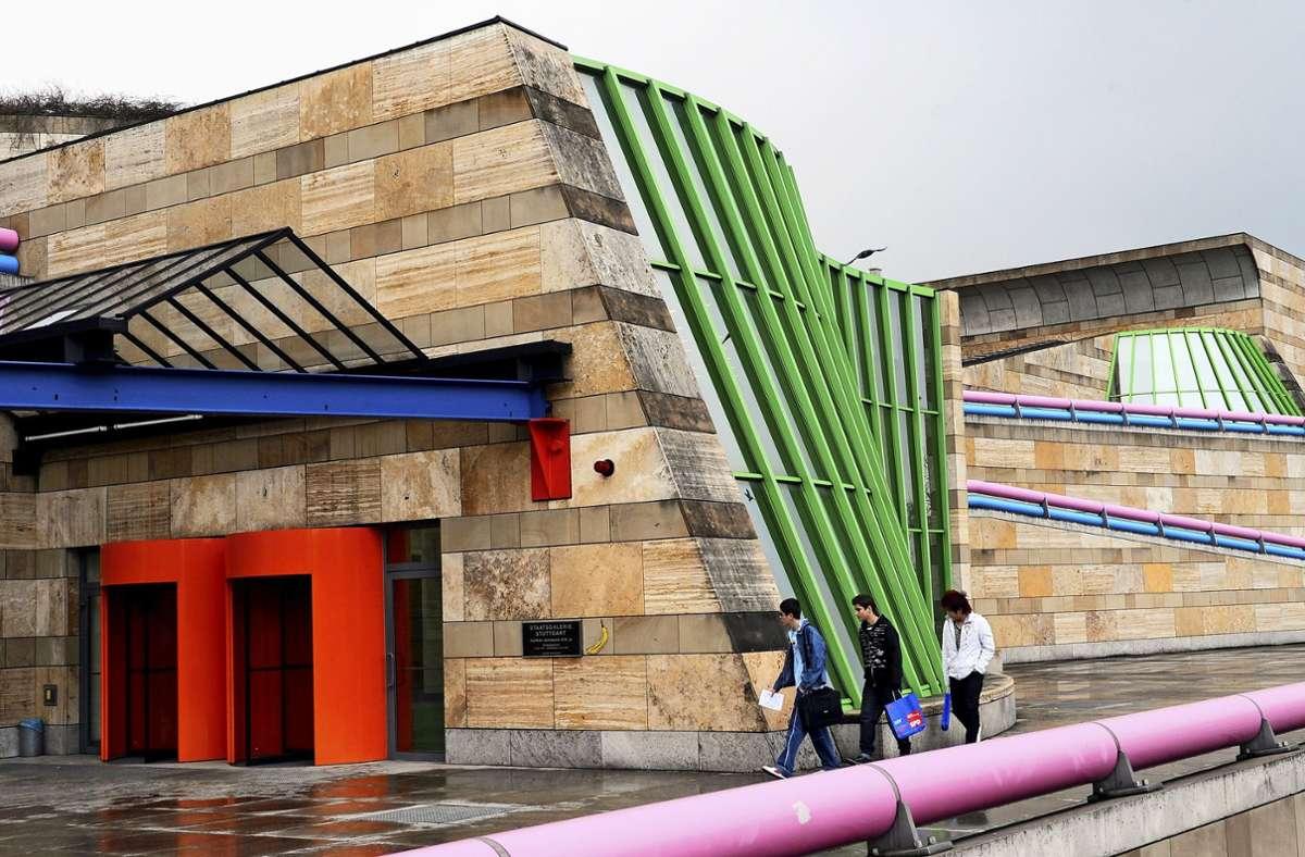 Ein schönerer Arbeitsplatz als in mancher Fabrik: die Staatsgalerie Stuttgart Foto: dpa/Norbert Försterling