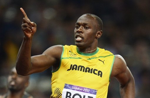 Usain Bolt hat Glück