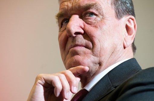 Schröder und Beckstein zum Ukrainekonflikt
