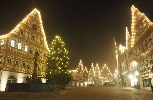 Wo Lichter die Adventszeit versüßen