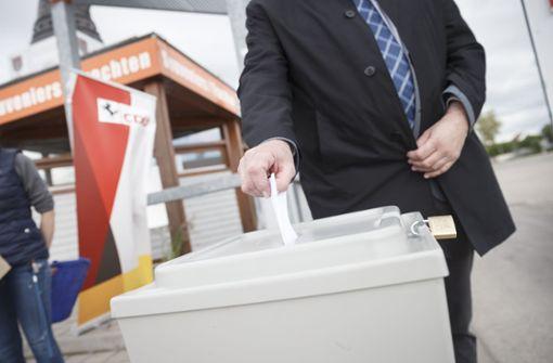 Markus Reiners liegt  im CDU-Rennen hauchdünn vorn