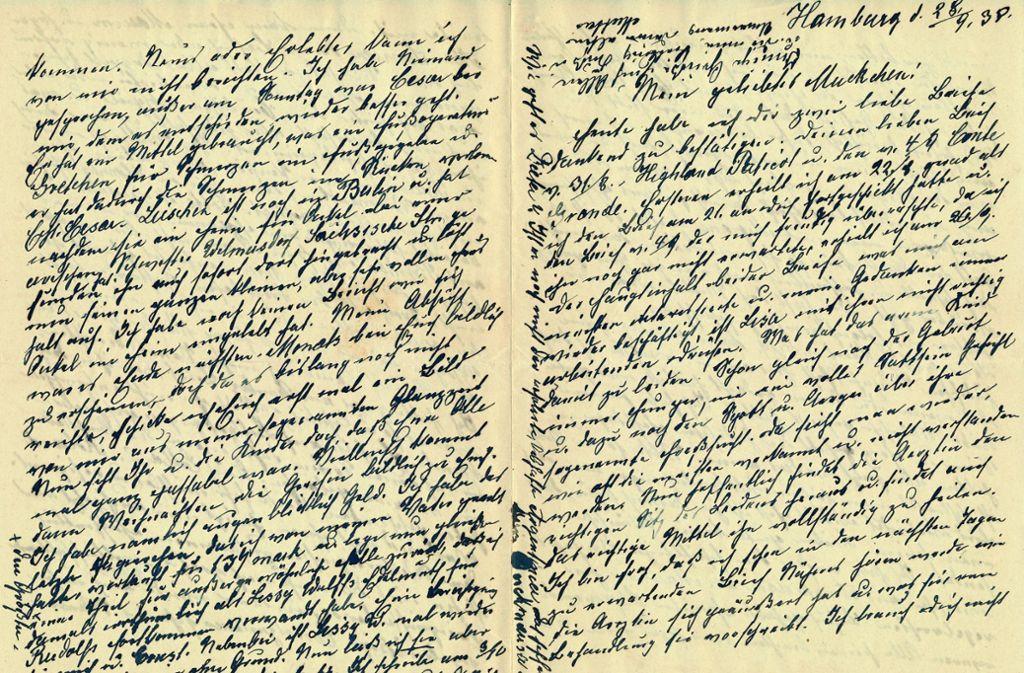 Die Briefe von Anna Hess waren die Basis für Astrid Gehrigs wissenschaftliche Arbeit, die inzwischen auch  als Buch publiziert wurde. Foto: privat