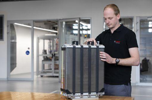 Bosch gründet Joint Venture für Brennstoffzellen