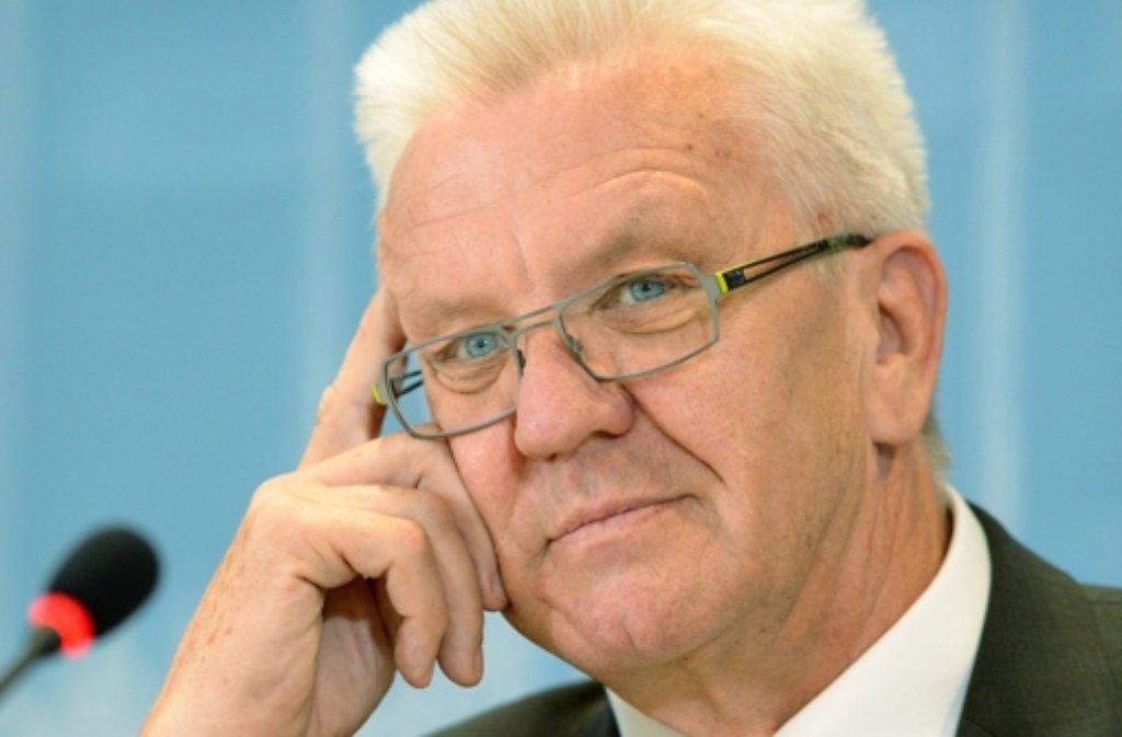 Die SPD hat Baden-Württembergs Ministerpräsident Winfried Kretschmann (Grüne) für den Asylkompromiss gedankt. Foto: dpa