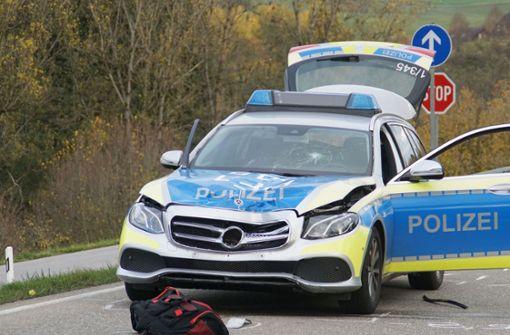 Fußgängerin von Polizeiwagen getötet