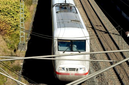 Baustelle bremst Intercity massiv aus