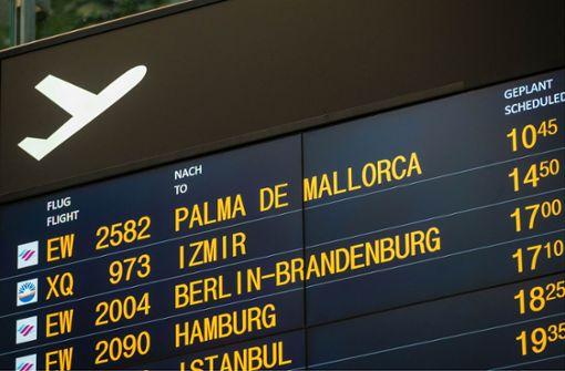 Traurige Sommersaison am  Flughafen Stuttgart