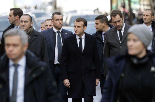 """Macron knickt vor """"Gelbwesten"""" ein"""