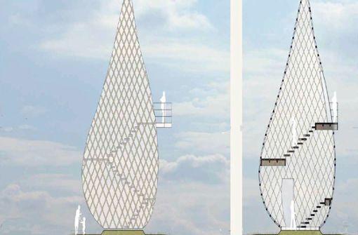 Kippt das Vorzeigeprojekt Apfelkernturm?