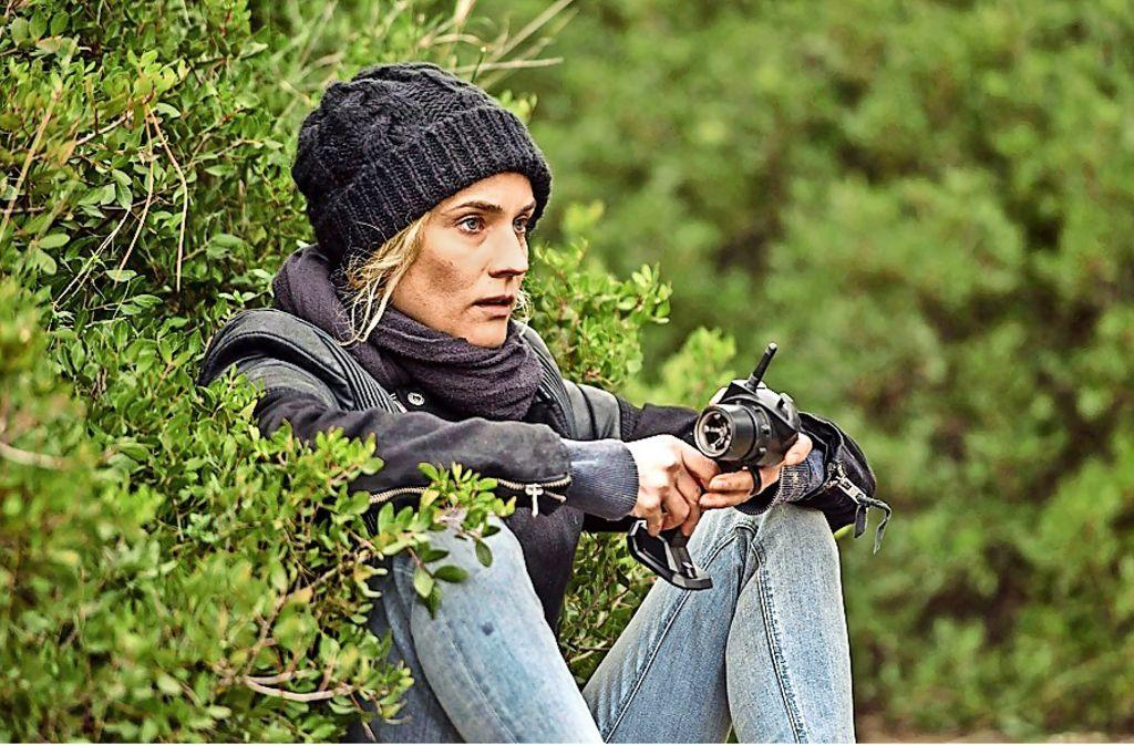 """Diane Kruger spielt sich in Fatih Akins NSU-Drama """"Aus dem Nichts"""" in Cannes überraschend in die Riege der Palmen-Favoritinnen. Foto: Festival"""