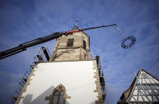 Waiblinger Martinskirche ist  wieder komplett