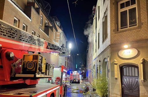 Feuer in Einzimmerwohnung im Bohnenviertel