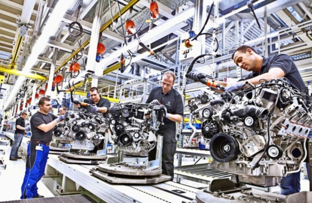 Daimler versichert, dass die Abgaswerte seiner Motoren nicht manipuliert sind. Foto: Daimler