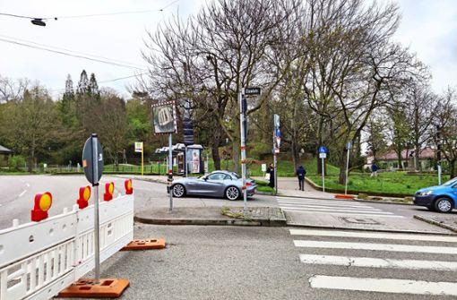 Verkehr rollt zeitweilig durchs Wohngebiet