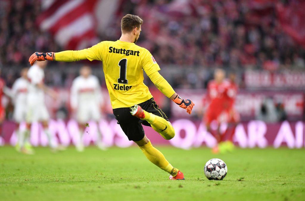 Ron-Robert Zieler kehrt dem VfB nach zwei Jahren den Rücken. Foto: Getty Images