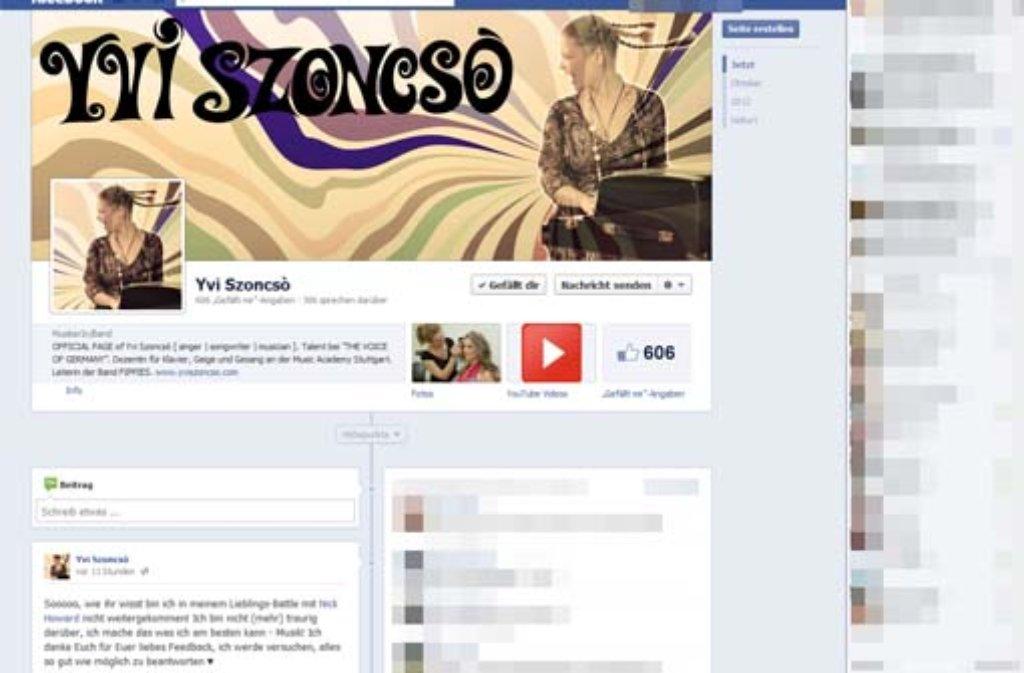 Auf ihrer Facebook-Seite kommentierte Yvi Szoncsò ihr Aus folgendermaßen: Sooooo, wie ihr wisst bin ich in meinem Lieblings-Battle mit Nick Howard nicht weitergekommen! Ich bin nicht (mehr) traurig darüber, ich mache das was ich am besten kann - Musik! Ich danke Euch für Euer liebes Feedback, ich werde versuchen, alles so gut wie möglich zu beantworten ♥ Foto: SIR/Screenshot