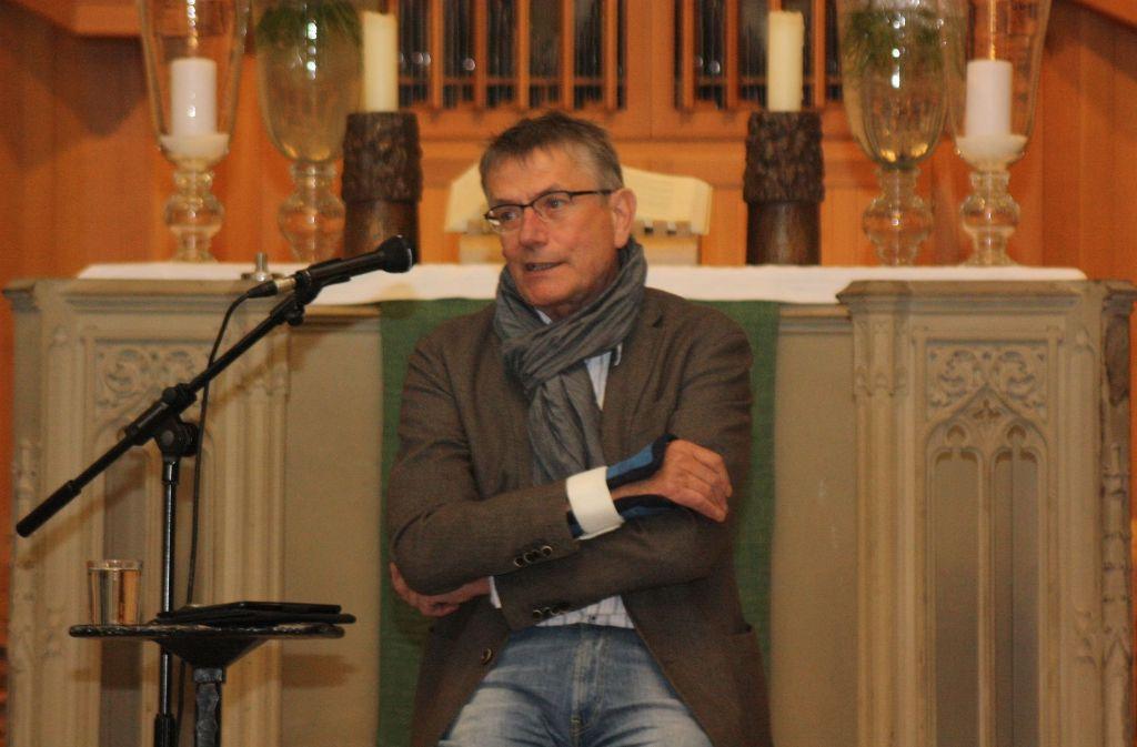 Geschätzter Korrespondent:  der frühere ARD-Mann in Kairo, Jörg Armbruster Foto: StZ