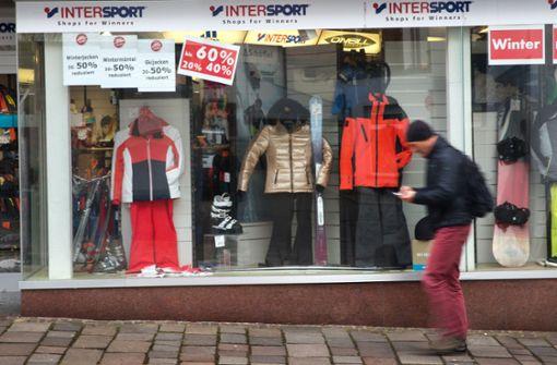 Die Händler sind mit dem Winter zufrieden