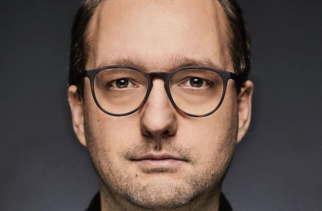 Regisseur Christian Müller (39) fährt gerne Auto, aber nicht in der Stadt. Foto: Alexander Wunsch