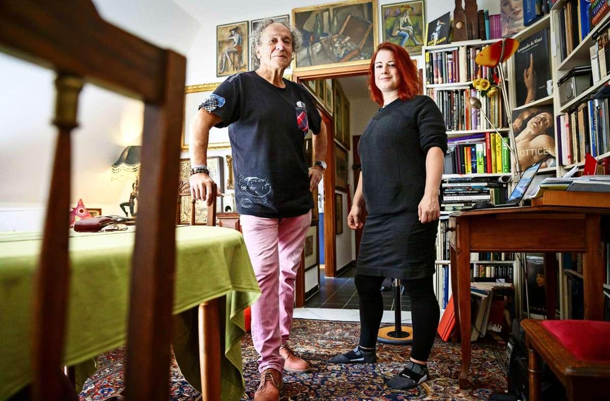 Gabriel Bulik und seine Nachfolgerin bei der MIR, Lena Keuerleber Foto: Lichtgut/Julian Rettig