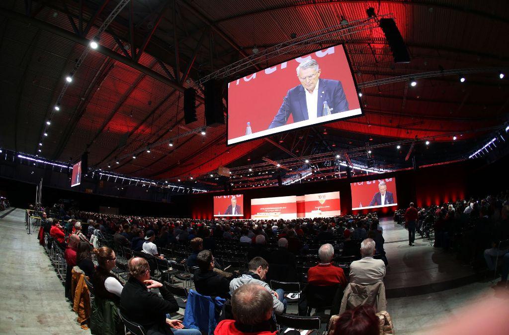 Auf der Mitgliederversammlung des VfB am Sonntag wurde unter anderem der neue Vereinsbeirat gewählt. Foto: Baumann