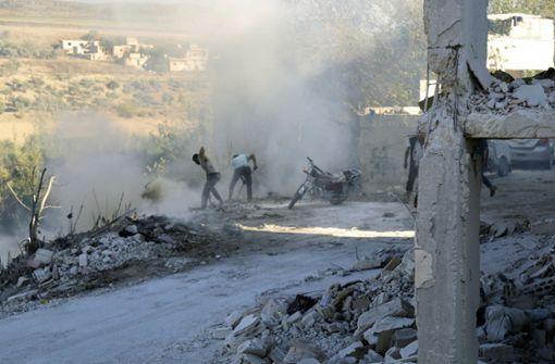 Wird Syrien die Rebellenhochburg angreifen?