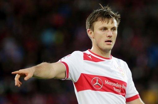William Kvist vom VfB Stuttgart muss verletzungsbedingt mindestens vier Wochen lang pausieren. Foto: Pressefoto Baumann