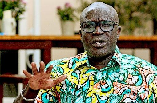 Ein  Entwicklungshilfeminister für Afrika