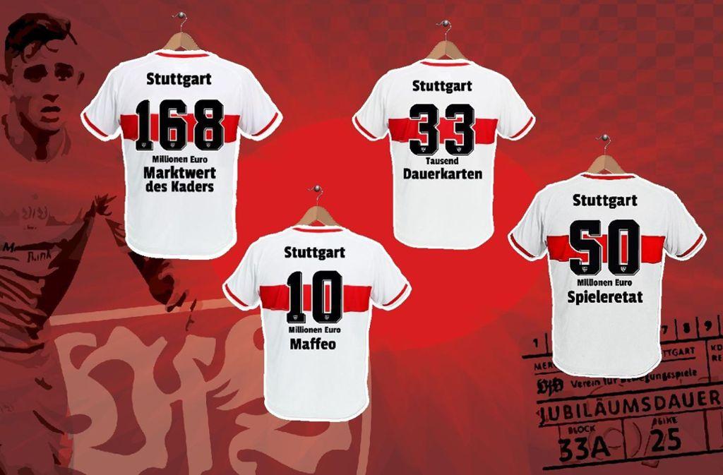 Von Pablo Maffeo bis zu den Jubiläumsdauerkarten – der VfB bricht gleich mehrere Vereinsrekorde. Foto: Sebastian Ruckaberle