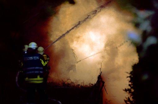 2013 forderten Großbrände die Feuerwehren