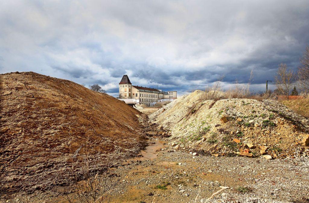 Die  Industriebrache soll ein lebendiges Quartier werden. Foto: /Horst Rudel