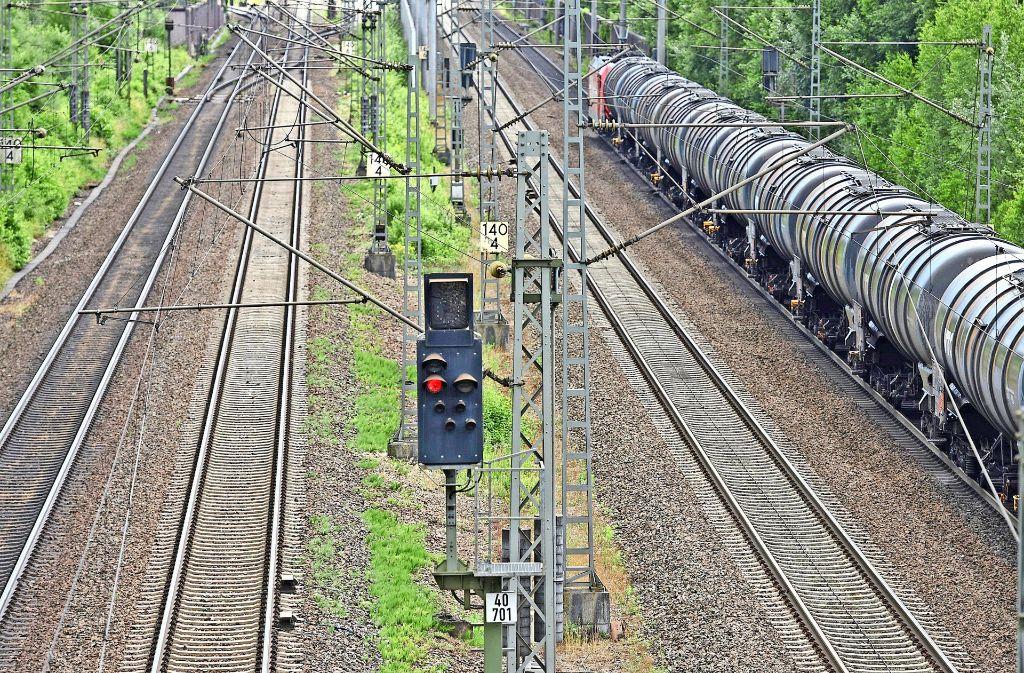 Sperrung Rheintalstrecke