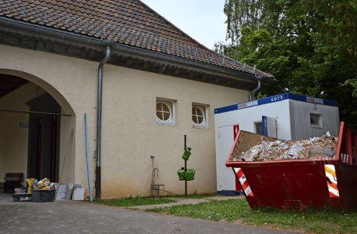 Toiletten am Hauptfriedhof werden saniert