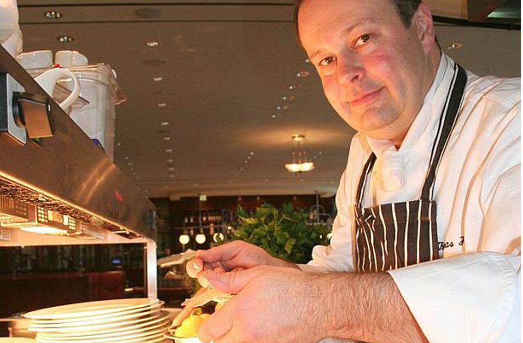 Im Christophorus wird unter der Ägide von Thomas Heilemann vor allem Steak gebraten. Foto: Leonie Hemminger
