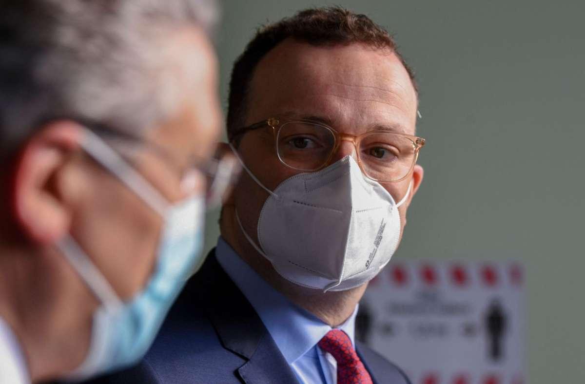 Bundesgesundheitsminister Jens Spahn. Foto: AFP/ANNEGRET HILSE