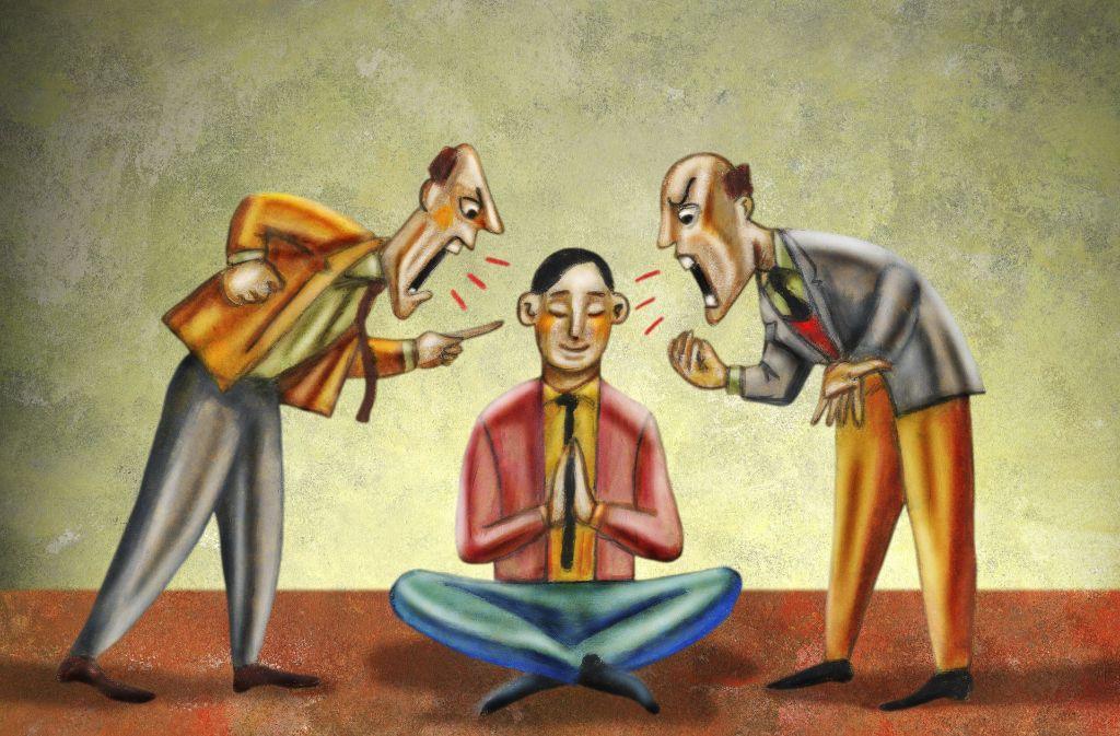 Das  Prinzip der Selbstheilung soll  körpereigene Widerstandskräfte stärken – ohne herkömmliche Behandlungswege auszuschließen. Foto: Illustration Works
