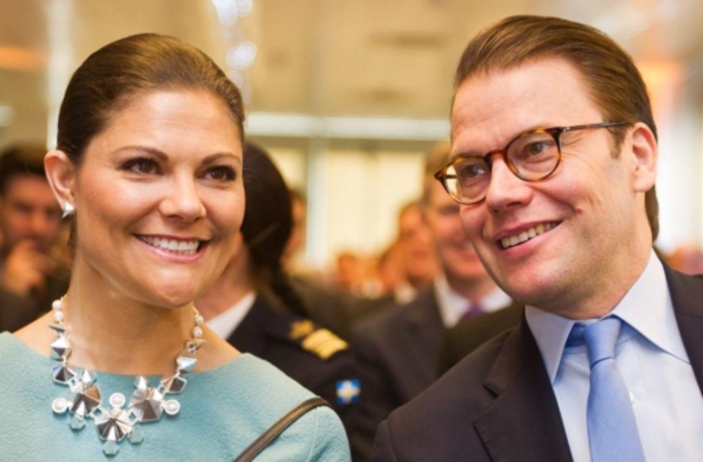 Victoria von Schweden und ihr Mann Daniel haben einen Sohn bekommen. (Archivfoto) Foto: dpa