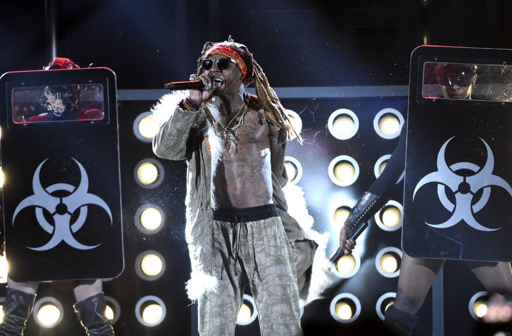 Besuch aus Amerika: Lil Wayne tritt auf dem Killesberg auf. Foto: Invision