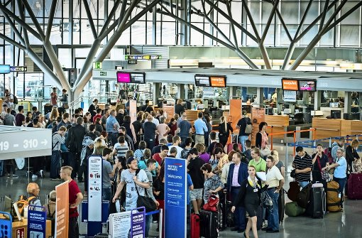 Fluggäste haben keine Angst vor Terrorismus