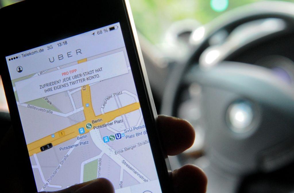 Der Fahrdienst Uber denkt über Expansion nach. Foto: dpa-Zentralbild