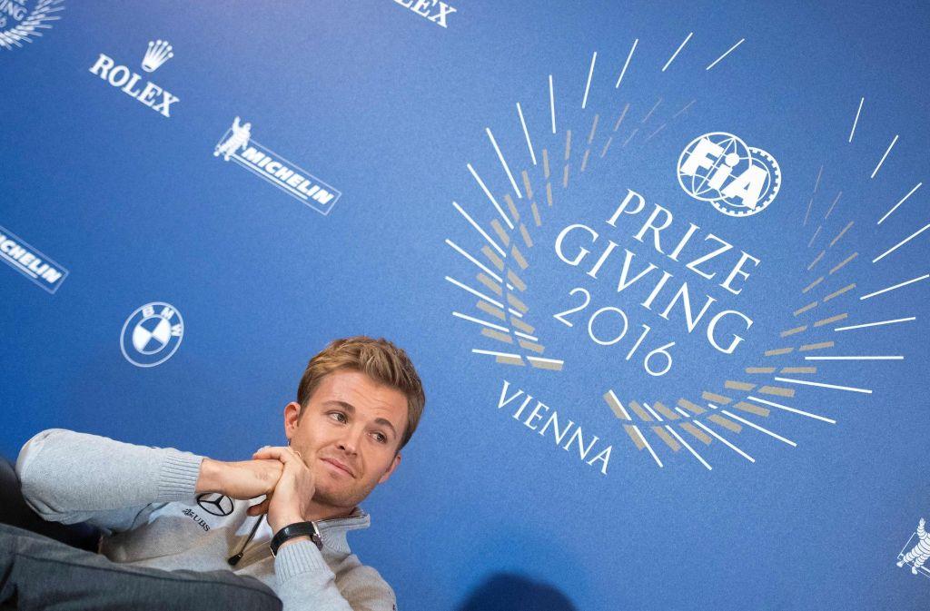 Weltmeister Nico Rosberg beendet seine Karriere. Foto: AFP
