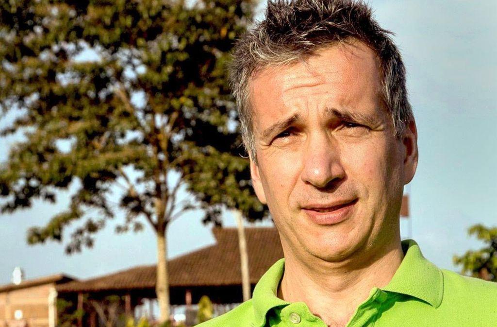Andreas Ronken reist selbst zwei- bis dreimal pro Jahr nach Nicaragua, um sich von den Fortschritten auf der Plantage El Cacao zu überzeugen. Foto: Tom Oettle, Ritter Sport