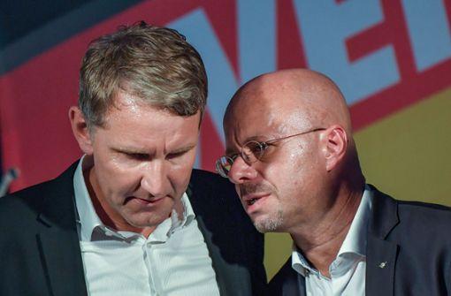 """""""Flügel"""" geht offline –  Verfassungsschutz:Einfluss auf Partei bleibt"""
