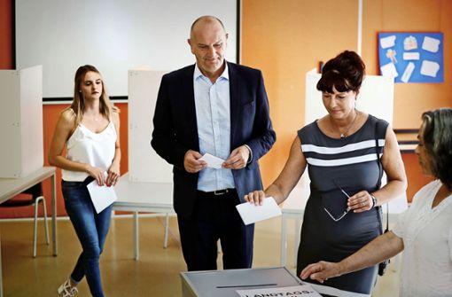 Die SPD bleibt in Brandenburg stärkste Kraft