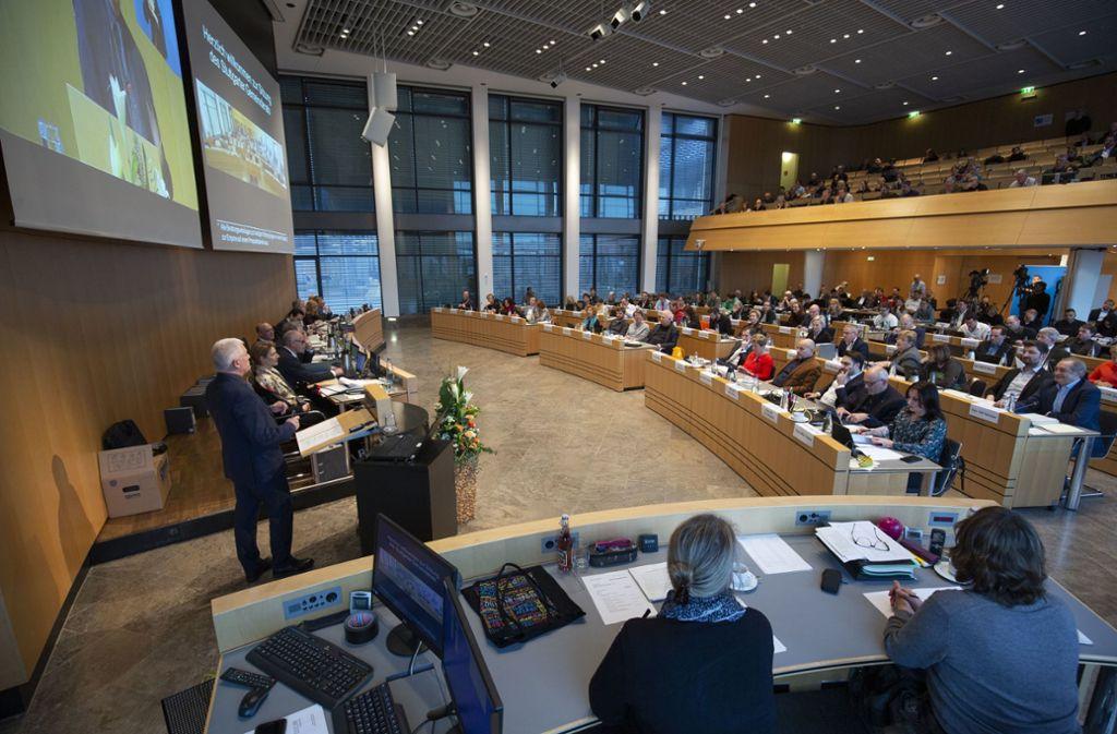 Am Freitag hat der Gemeinderat über zahlreiche Projekte beraten. Doch nicht für alle gibt es eine Mehrheit. Foto: Lichtgut/Leif Piechowski