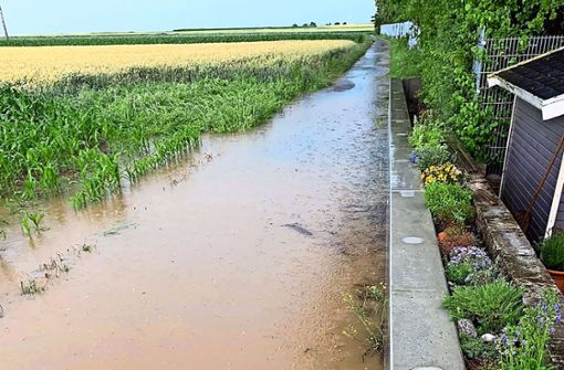 Filderstadt rüstet sich für Starkregen
