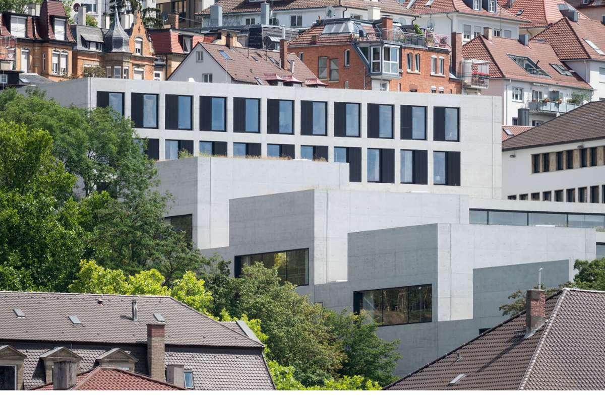 Der Neubau der Stuttgarter John Cranko Schule wurde am Montagabend in Stuttgart feierlich eingeweiht. Foto: dpa/Marijan Murat