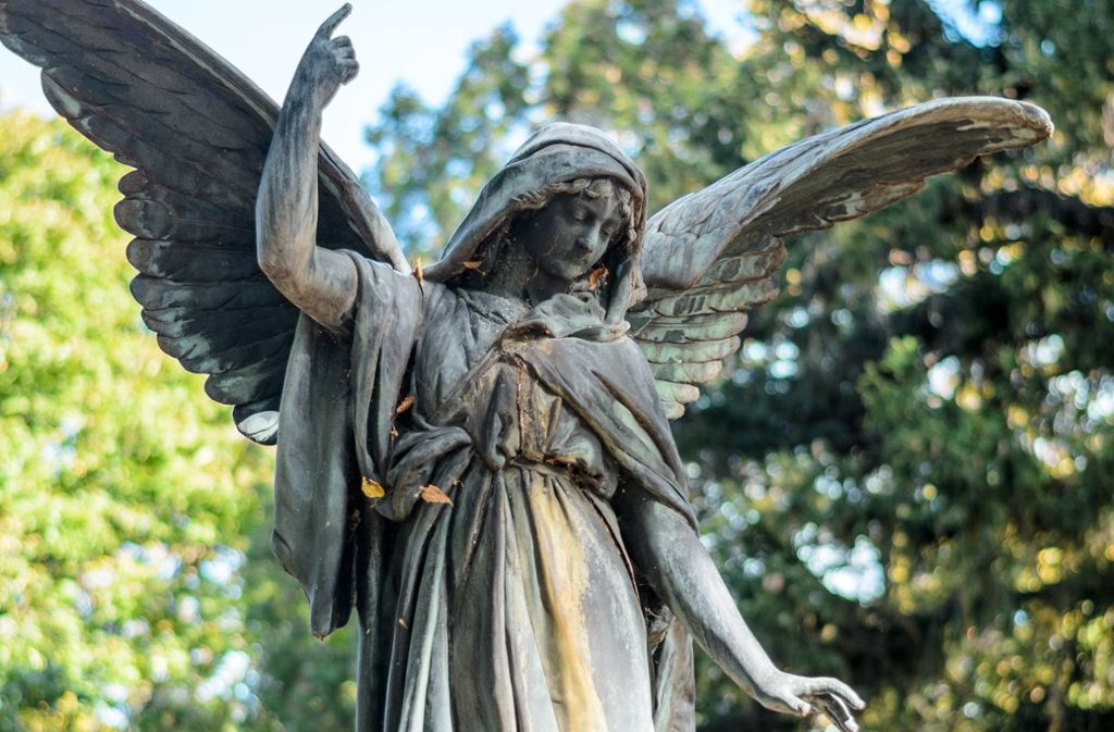 Todesengel auf dem Zentralfriedhof von Wien Foto: Stefan/Adobe Stock