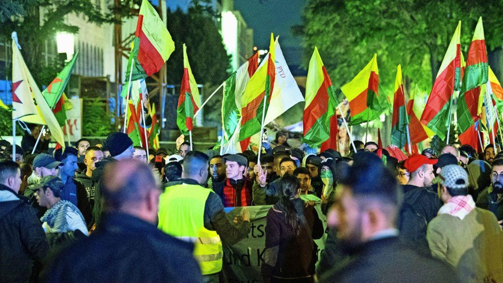 Neue Ermittlungsgruppe nach Kurdenprotesten